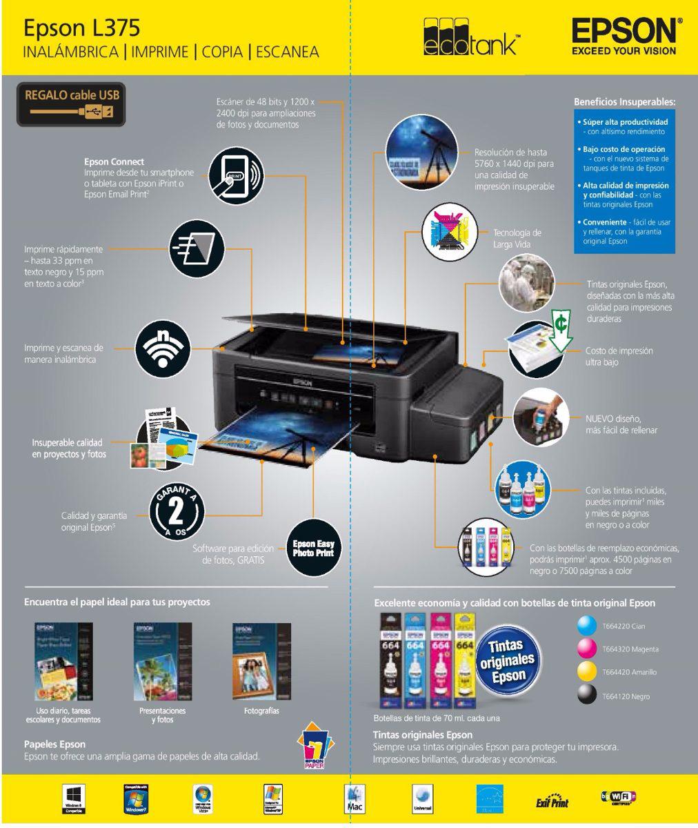 Impresora Epson L375