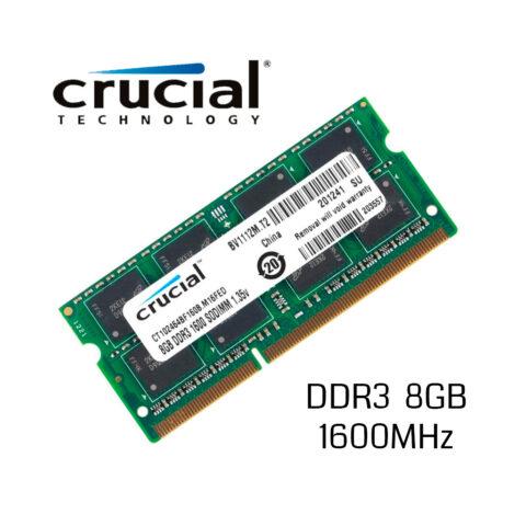 CRUCIAL 8GB 1600MHz