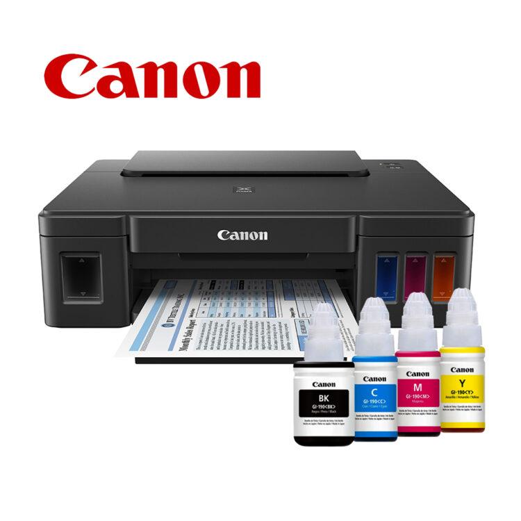 Impresora Canon Pixma G1100 Mayoreo De Tecnologia En